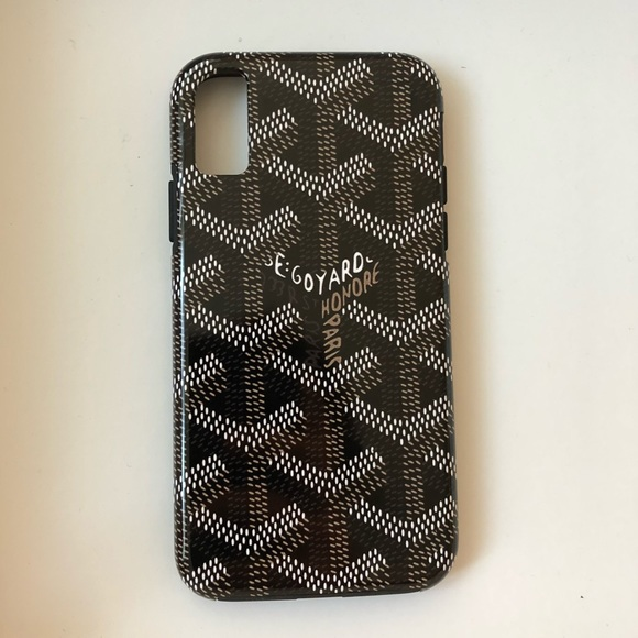 hot sale online daf46 0db5f Society6 Goyard iPhone X tough phone case